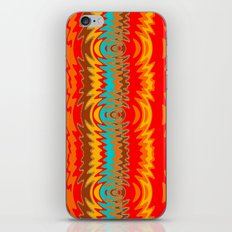 Groovy Red iPhone & iPod Skin