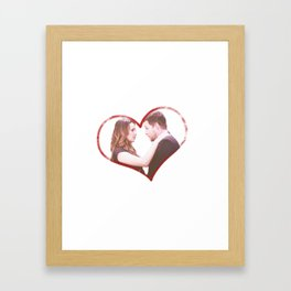Alex and Jo Framed Art Print