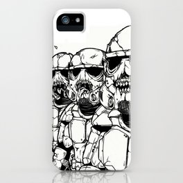 The Undead Troopers iPhone Case