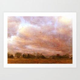Landscape #6 Art Print