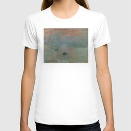 Claude Monet - Impression, Sunrise T-shirt