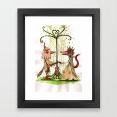 i do Framed Art Print