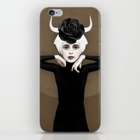 khaleesi iPhone & iPod Skins featuring Sever by Ruben Ireland