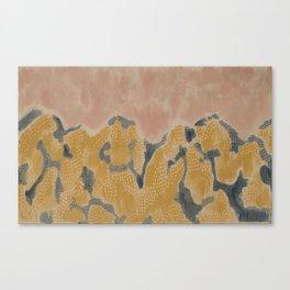 Sunset Mountain Canvas Print