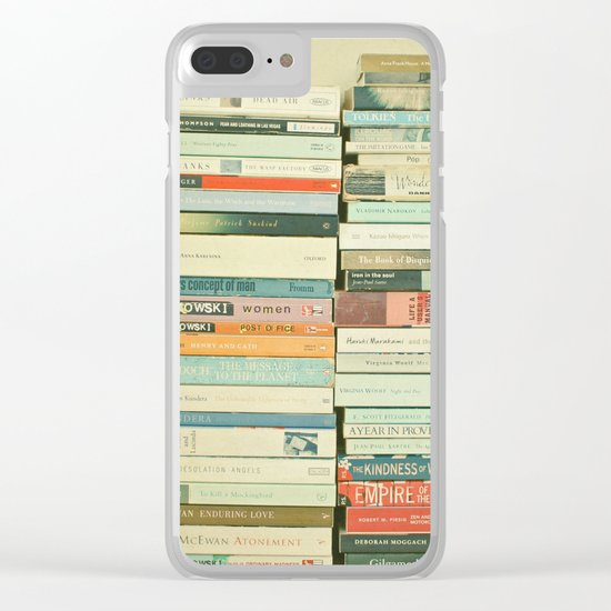 Bookworm Clear iPhone Case