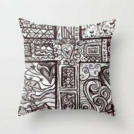 Fear not little flock Throw Pillow
