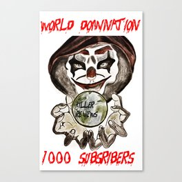 1000 SUB TEE SHIRT Canvas Print