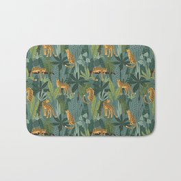 Jungle Leopards Bath Mat