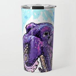 Purple Octopus - Atticus quote Travel Mug