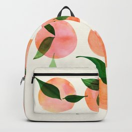 Abstract Orchard / Watercolor Fruit Backpack