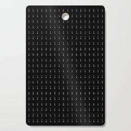 Semicolon Cutting Board