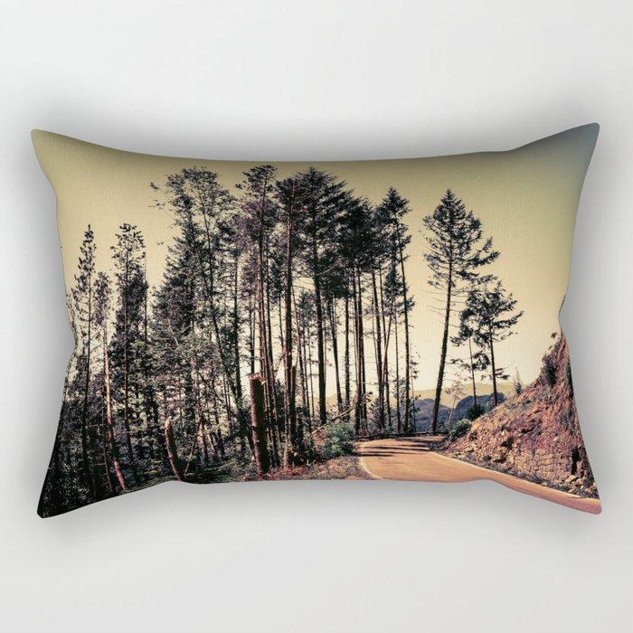 Woodland #2 Rectangular Pillow