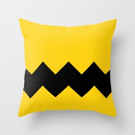 Be Charlie Brown Throw Pillow