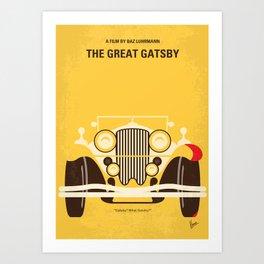 No206 My The Great Gatsby mmp Art Print