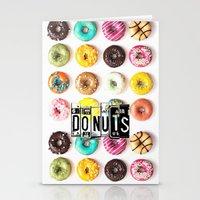 donuts Stationery Cards featuring DONUTS by Vertigo