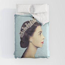QUEEN ELIZABETH II - THE YOUNG QUEEN IN PROFILE Comforters