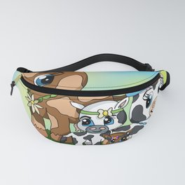 Cow milk is for baby cows Fanny Pack