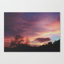 sky above me Canvas Print
