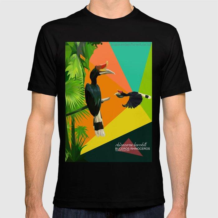 bucheros rhinoceros T-shirt