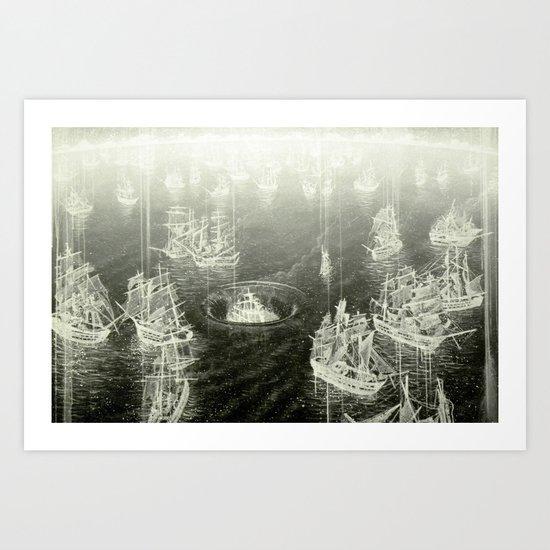 """Fog Bank"" Art Print"