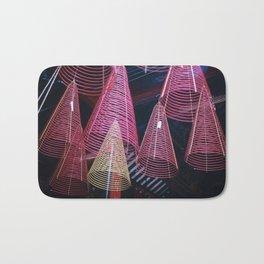RED SPIRALS - Vietnam - Asia Bath Mat
