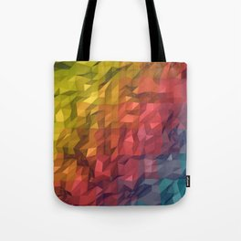 Poly Colours  Tote Bag