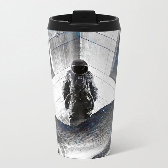 Astronaut Isolation Metal Travel Mug
