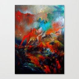 Kızıl Atlar Canvas Print