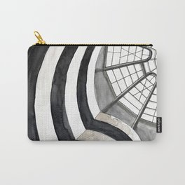 Architecture sketch of the Guggenheim Museum in New York Carry-All Pouch