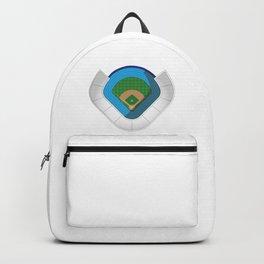 Baseball Stadium Backpack