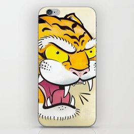 Tiger Tattoo Flash iPhone Skin