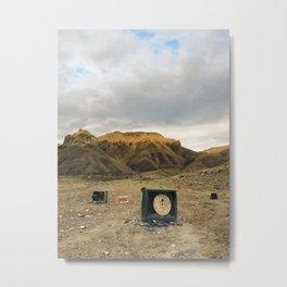 TV Graveyard Metal Print