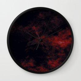 Crucifixion Darkness Wall Clock