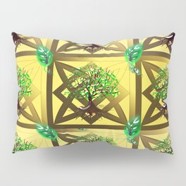 Celtic Tree Pattern Pillow Sham