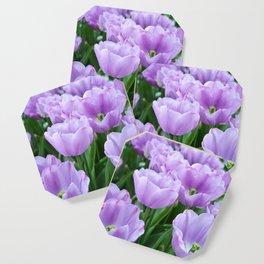 Mauve tulips Coaster