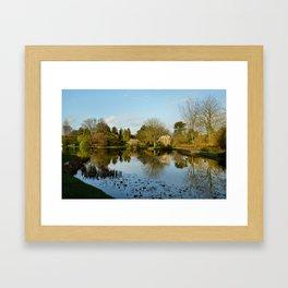 Burnby Hall Gardens Framed Art Print