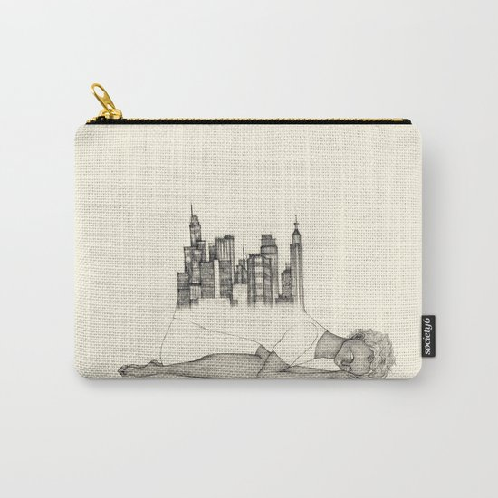 CITIES ARE GROWING Carry-All Pouch