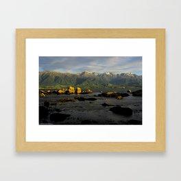 Kaikoura coast #3 Framed Art Print