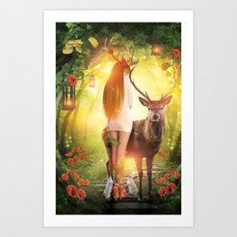 My Dear Forest Art Print
