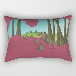 Latvia Rectangular Pillow
