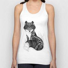 Wildlife Fox Unisex Tank Top