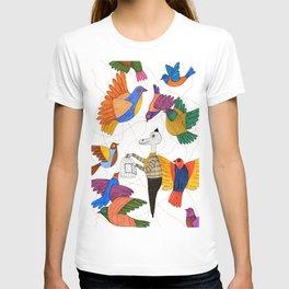 Mr.Master setting the birds free T-shirt
