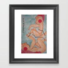 Forever? Framed Art Print