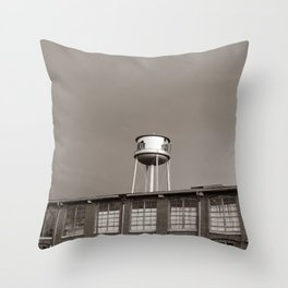 The Mill II Throw Pillow