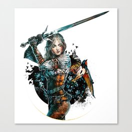 Ciri - The Witcher Wild Hunt Canvas Print