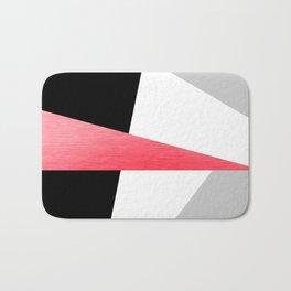 Bold Minimalist Geometric Pattern Bath Mat