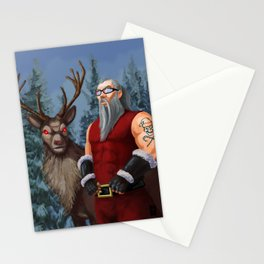 Who You Callin' A Jolly Ol' Elf? Stationery Cards