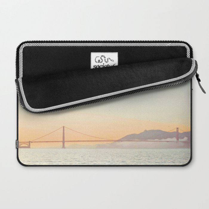 Pastel Golden Gate Laptop Sleeve