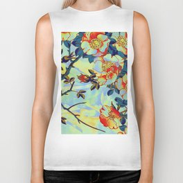 under the apple tree Biker Tank