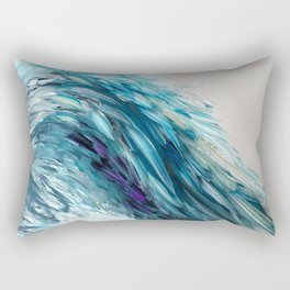 Angel Wing of Blue 2 Rectangular Pillow